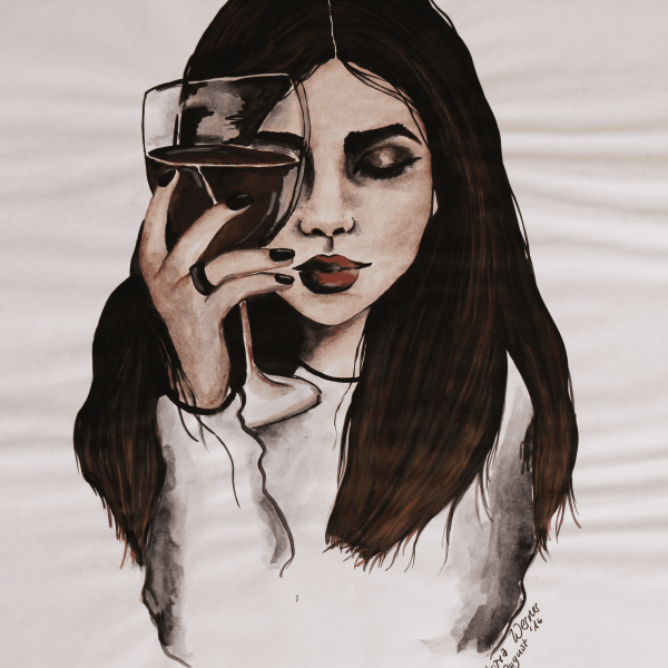 Frau_Wein