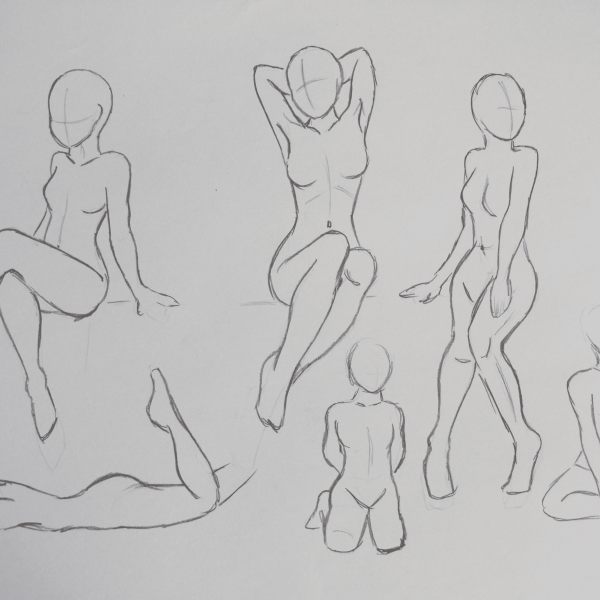 Frauen_Skizzen